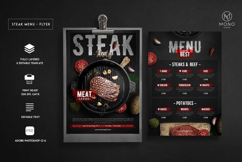 BBQ Flyer Templates