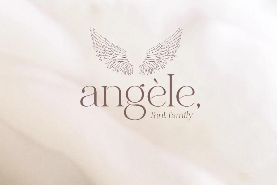 Beautiful Angel Font Family