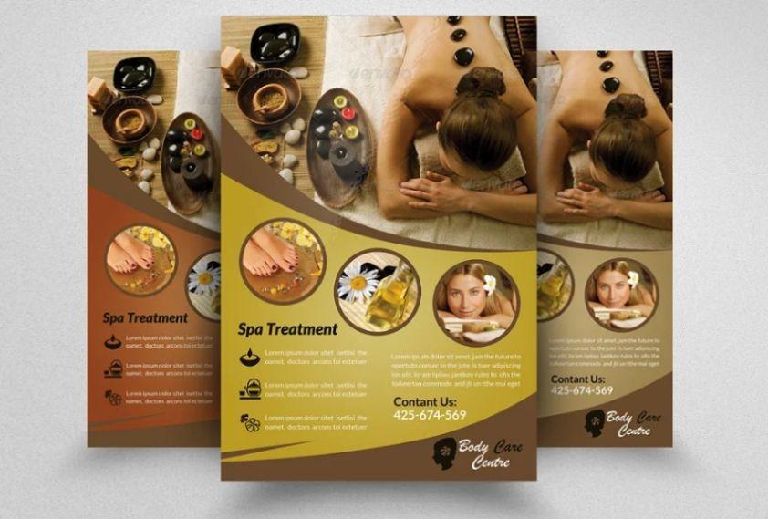 Beauty Center Flyer Design