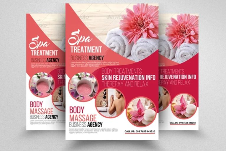 Beauty Clinic Flyer Templates