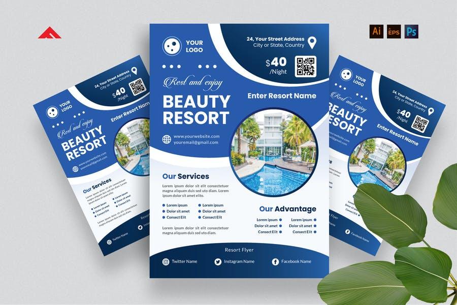 Beauty Resort Promotional Design