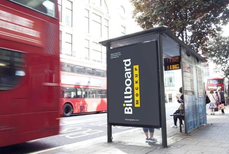 Billboard Dipslay Mockup PSD