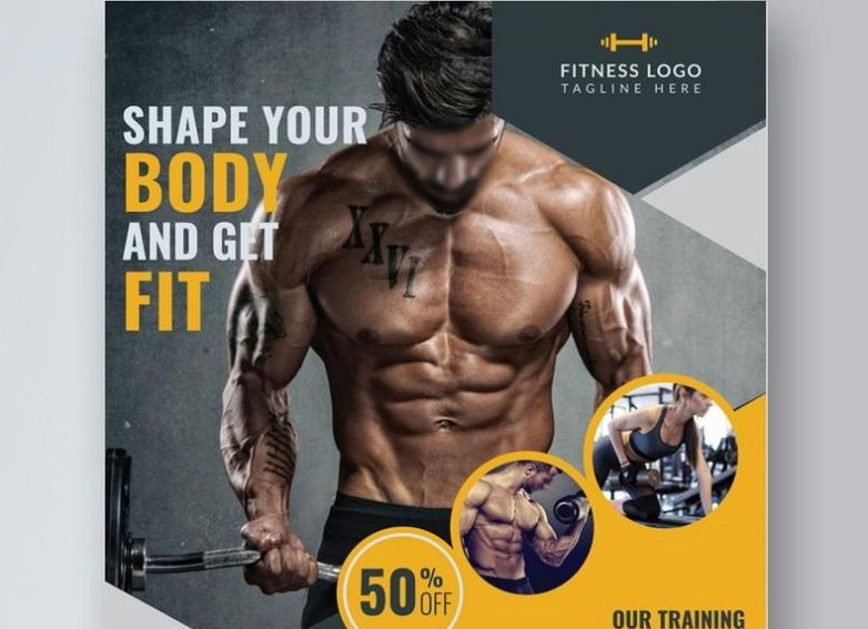 Body Fitness Flyer Templates