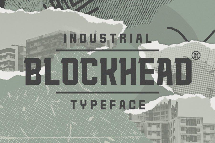 Bolk Block Head Fonrts