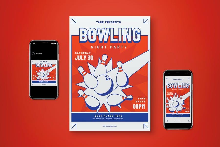 Bowling Night Promo Set