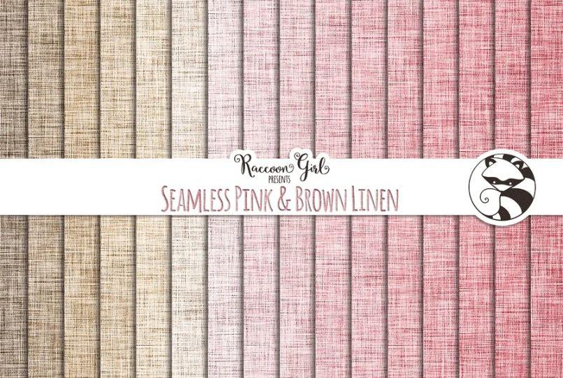 Brown Linen Textures Pack