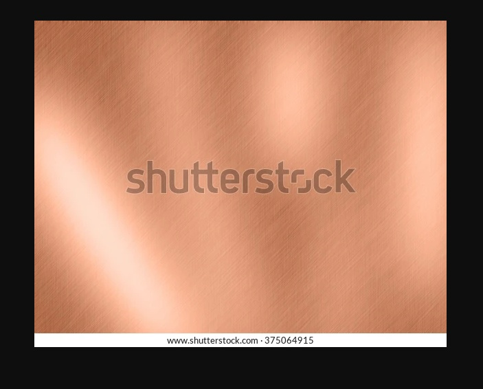 Brushed Copper Textures