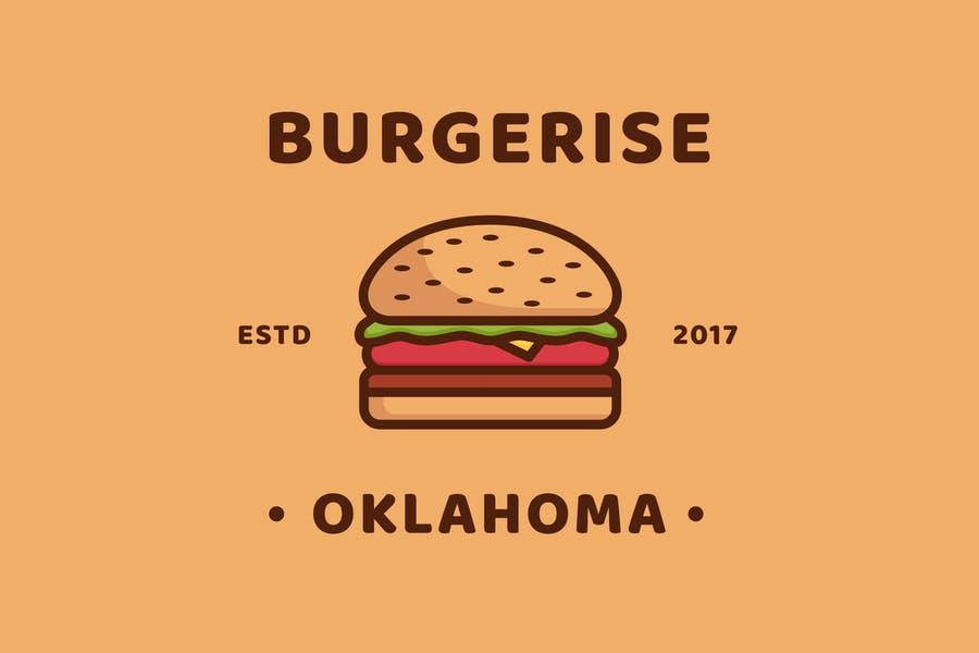 Burger Business Logo Templates