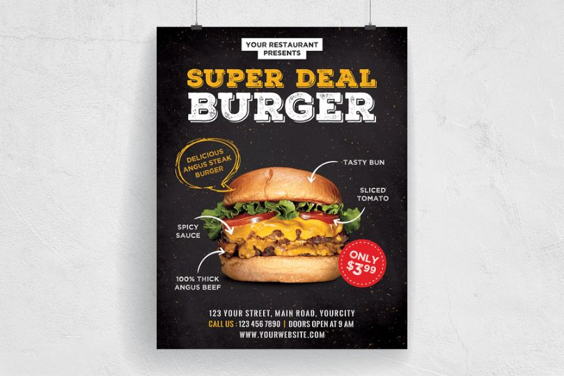 Burger Deal Flyer