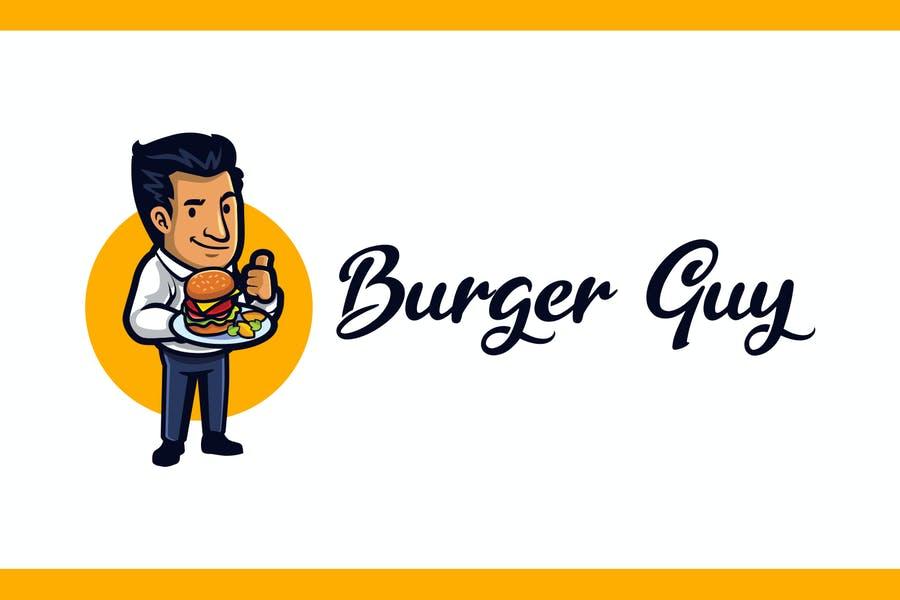 Burger Guy Branding Template