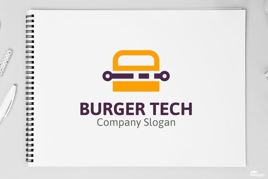 Burger Tech Logotype