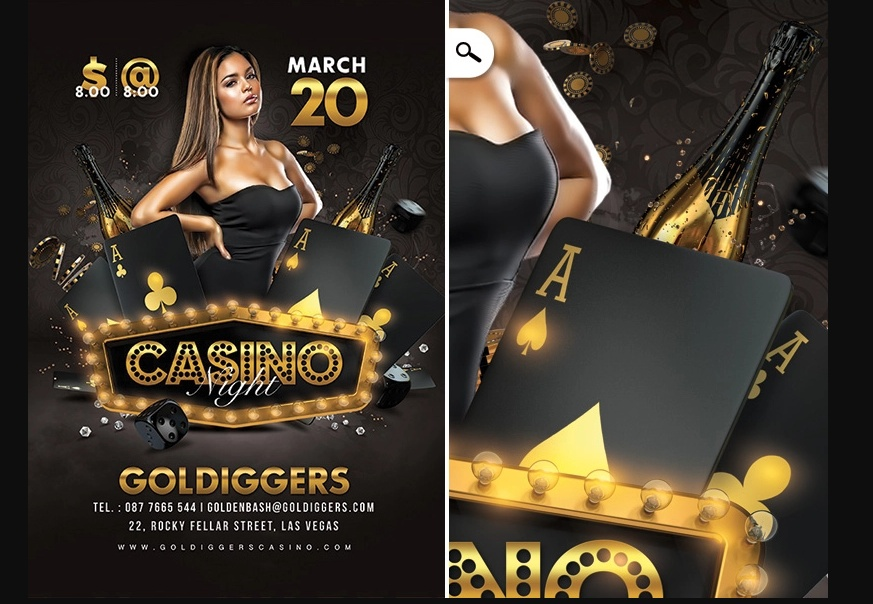 Casino Night Flyer