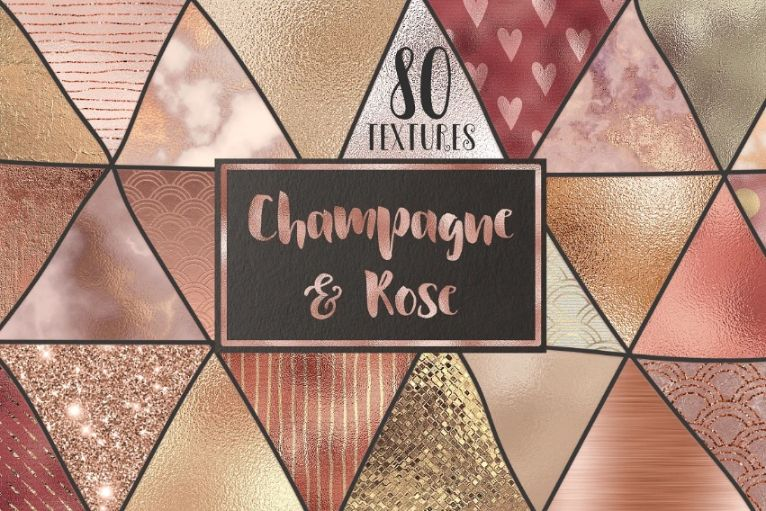 Champagne Background Textures