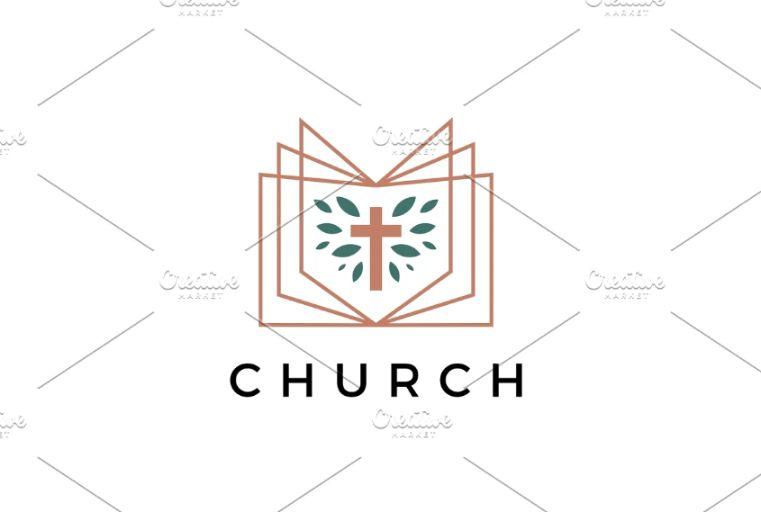 Church Book Logo Identity