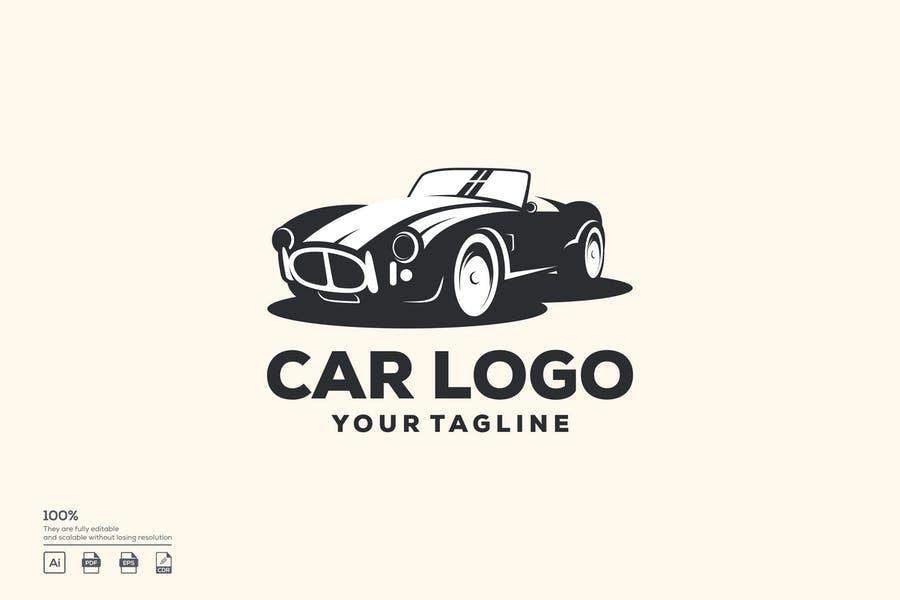Classic Automobile Logo Idea