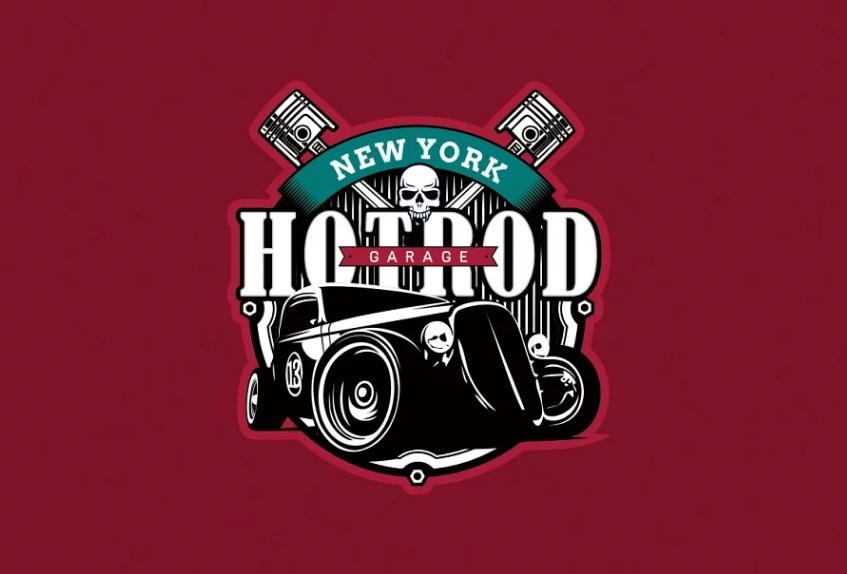 Classic Cars Logotype Designs