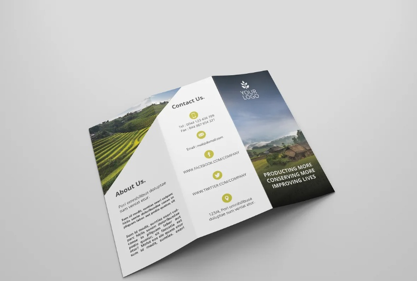 Clean Agro Advert Flyer