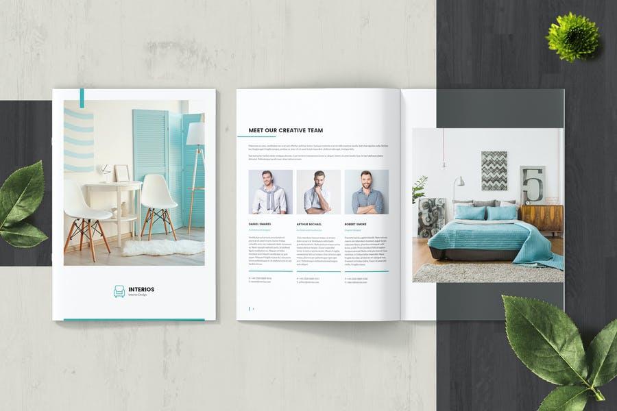 Clean Interior Designer Brochure