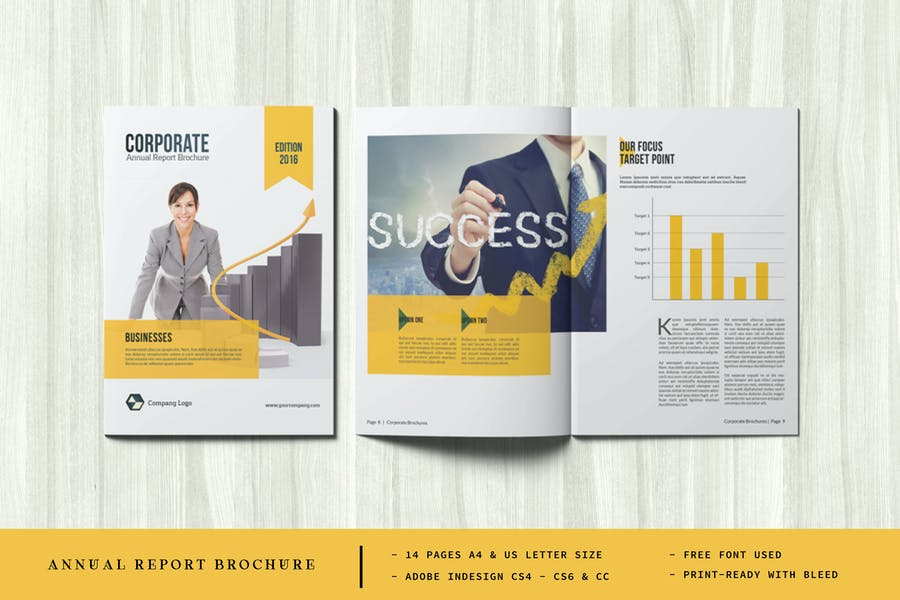 Clean and Elegant Brochure Template