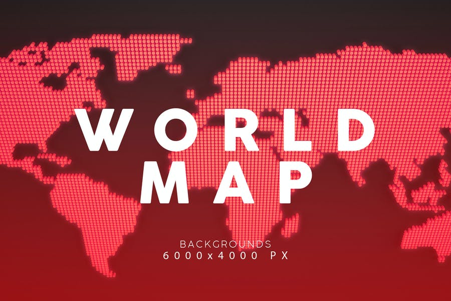 Colorful World Map Backgrouds