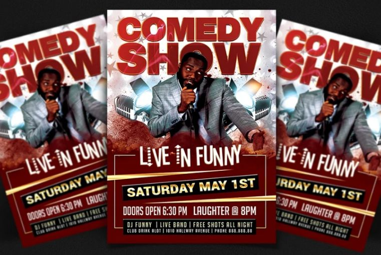 Comedy Night Flyer Templates
