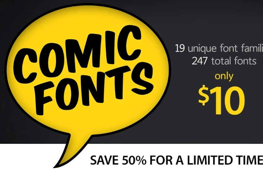 Comic Poster Typefaces