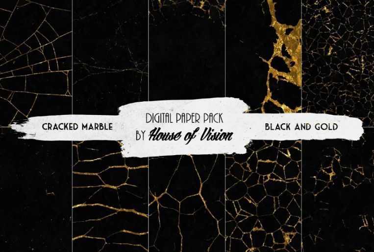 Cracked Marble Fonts