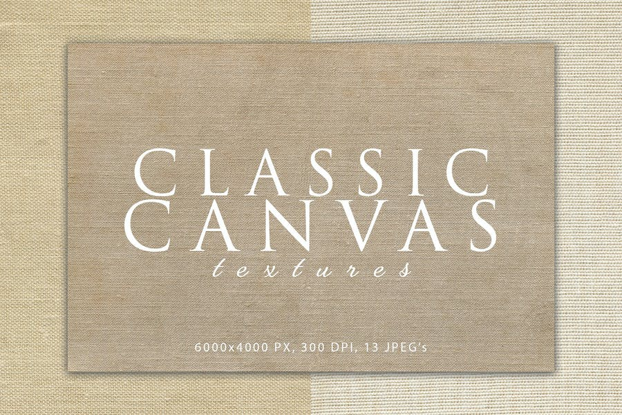 Creative Classic Canvas Texture