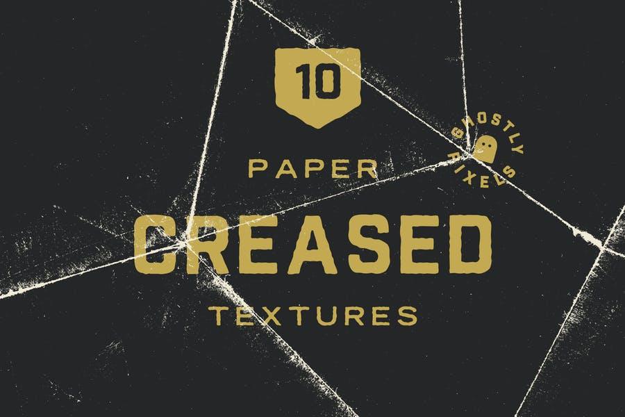 Creative Cracked Paper Texture