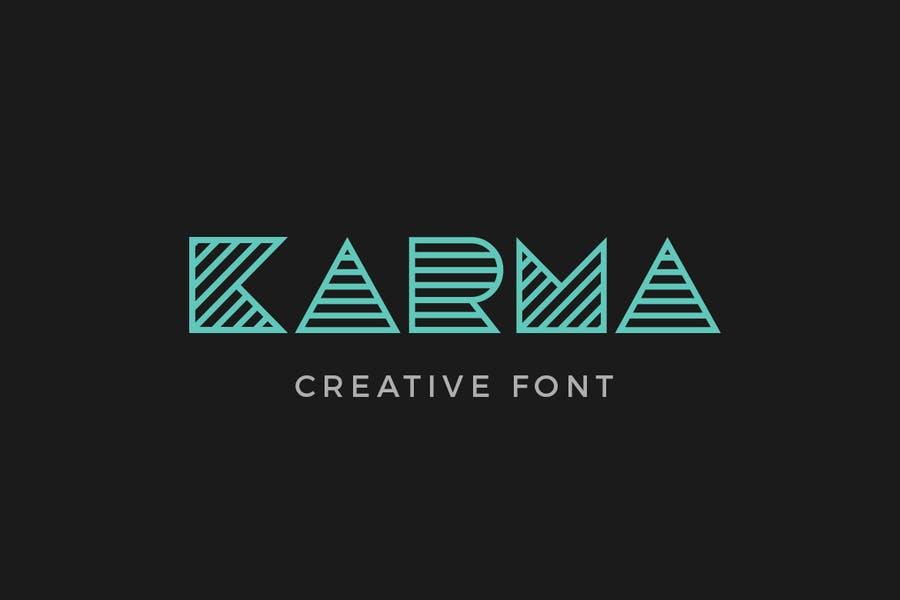 Creative Monogram Fonts