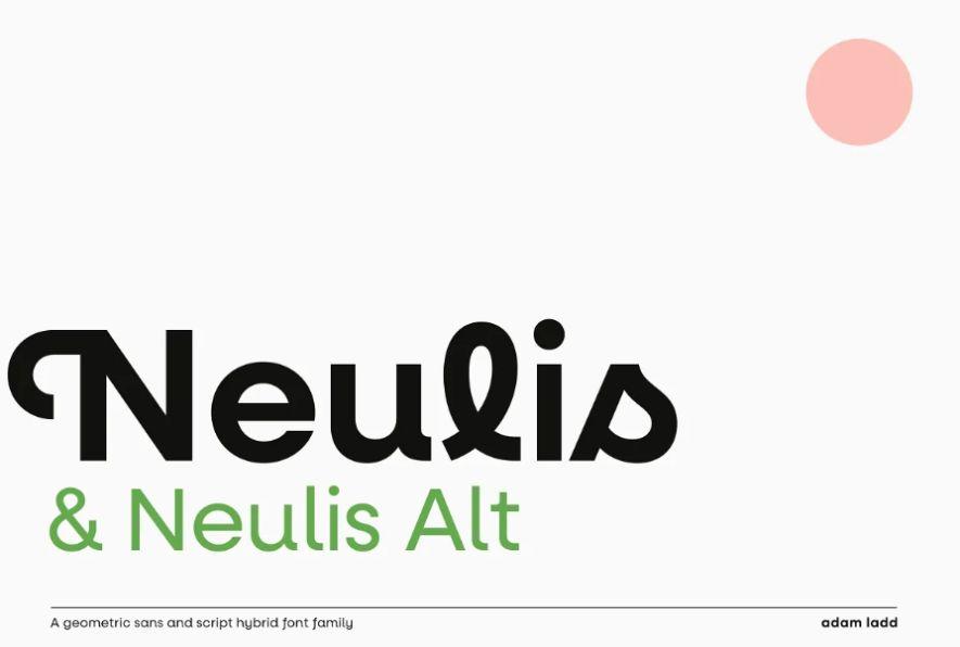 Creative Monoline Script Fonts