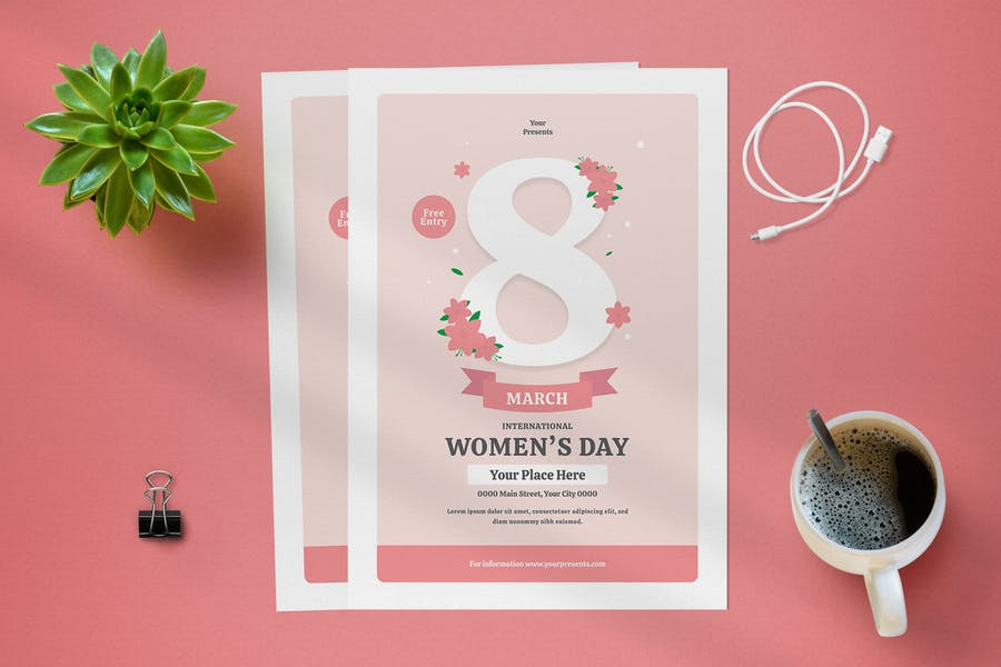 Creative Womens Day Flyer