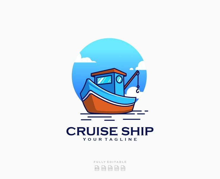 21+ FREE Ship Logo Design Templates Download