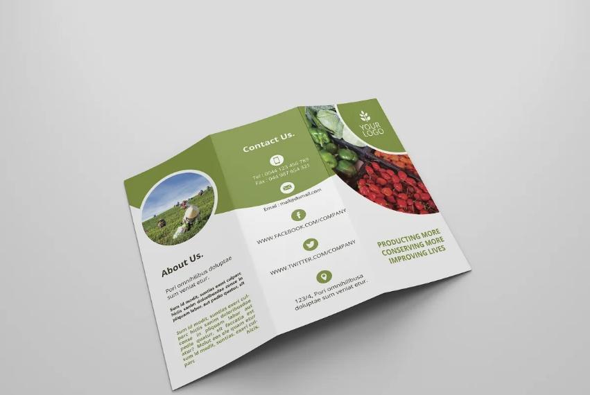 Cultivation Brochure Designs