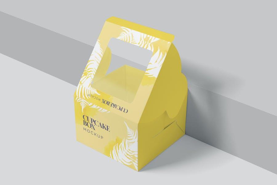 Cup Cake Branding Mockup