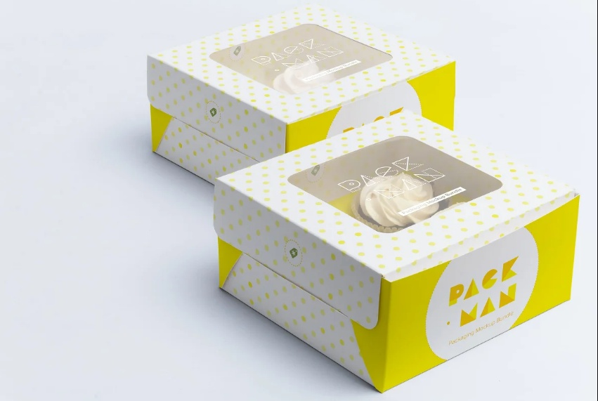 Cupcake Branding Mockup PSD