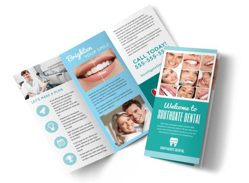 Customizable Dental Brochures
