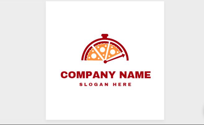 Customizable Pizza Logo