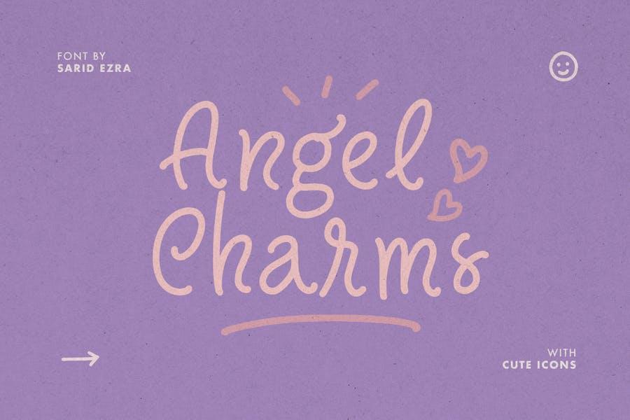 Cute Angels Fonts