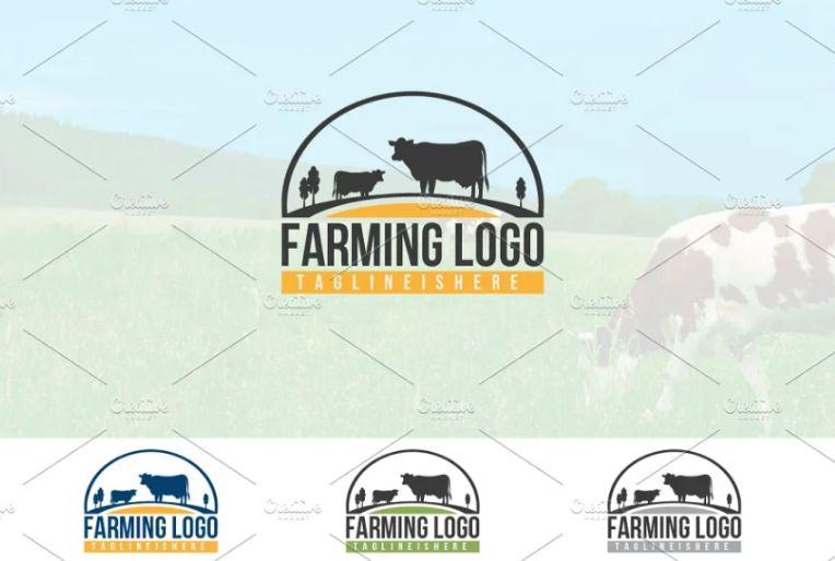Dairy Farming Logo Ideas