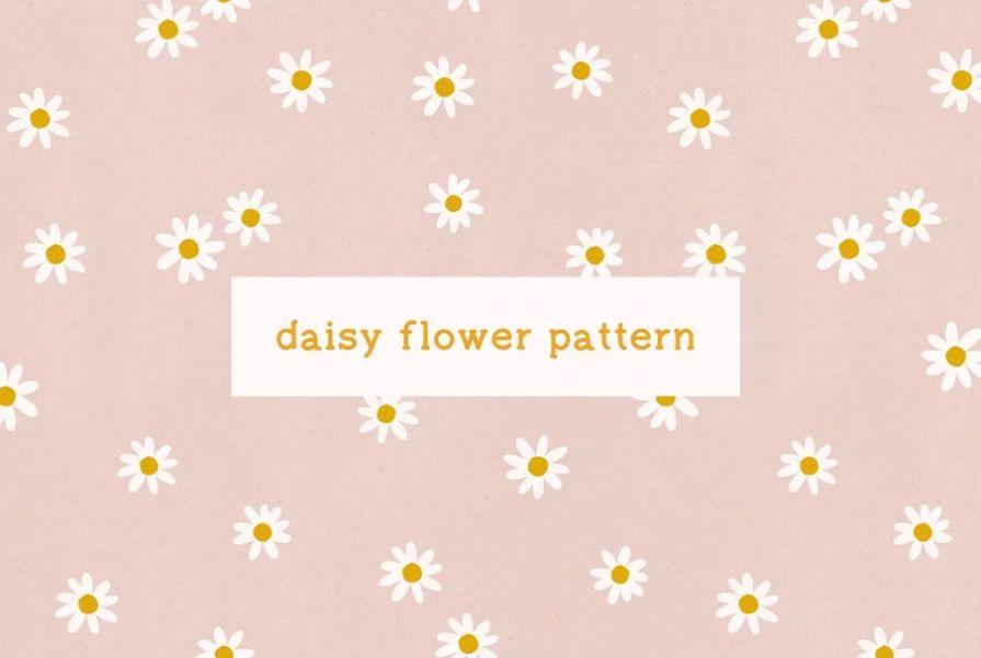 Daisy Pattern Textures