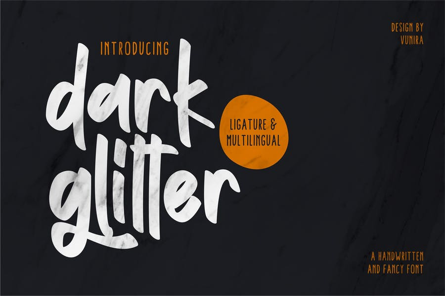 Dark and Bold Typefaces