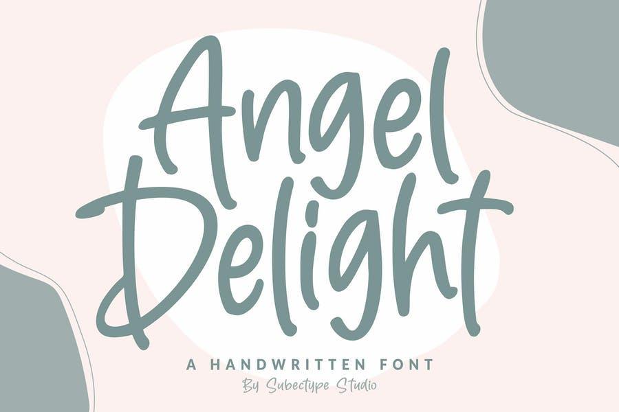Delightful handwwritten Fonts
