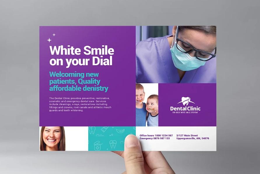 Dental Clinic Brochure Templates