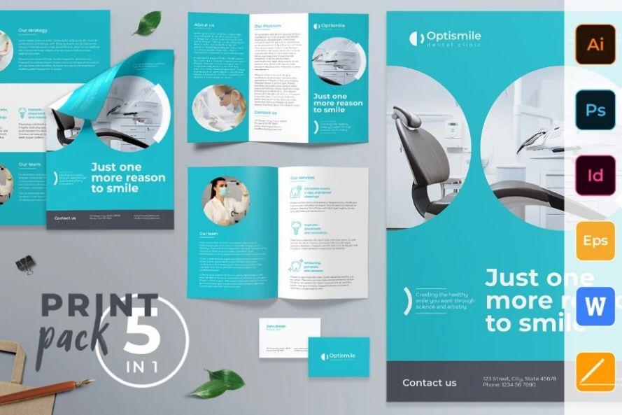 Dental Clinic Promotional Kit