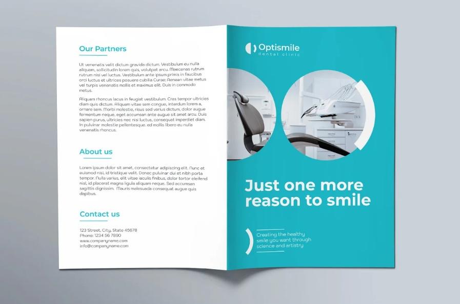 Dentist Promotional Brochures