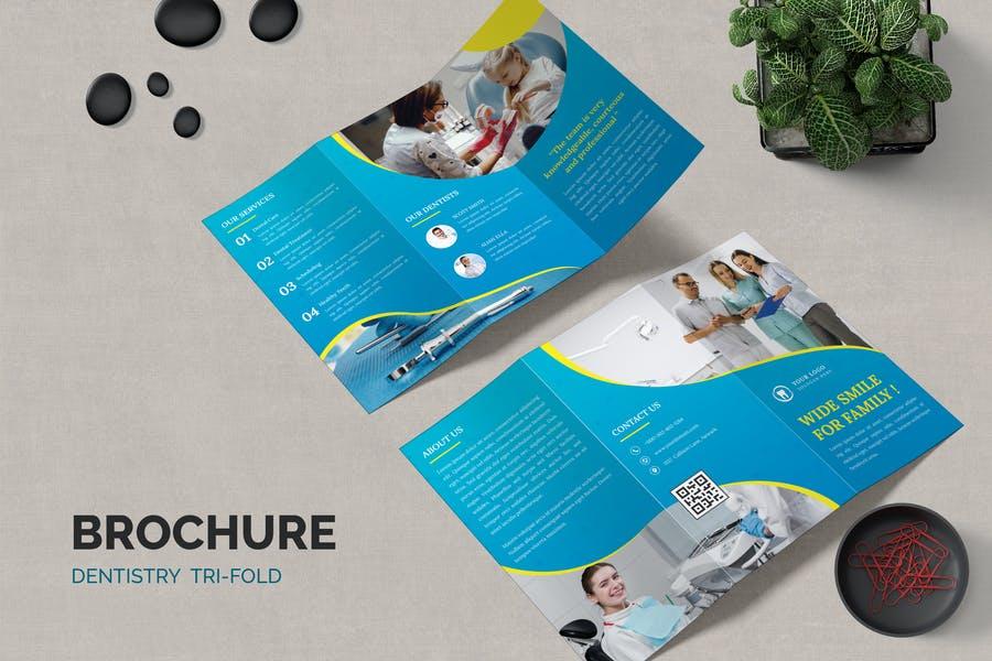 Dentistry Brochure Templates
