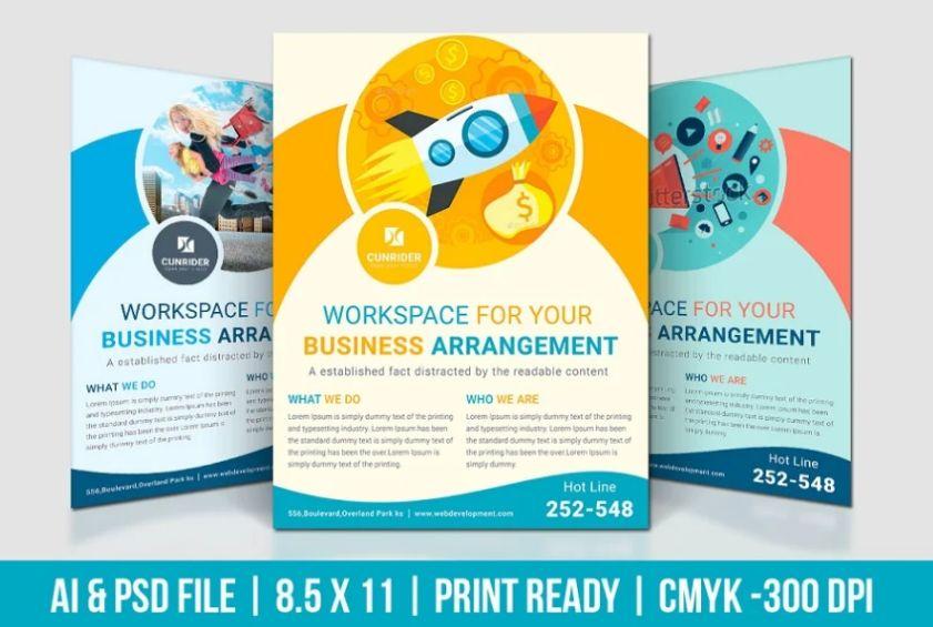 Digital Marketing Company Flyer