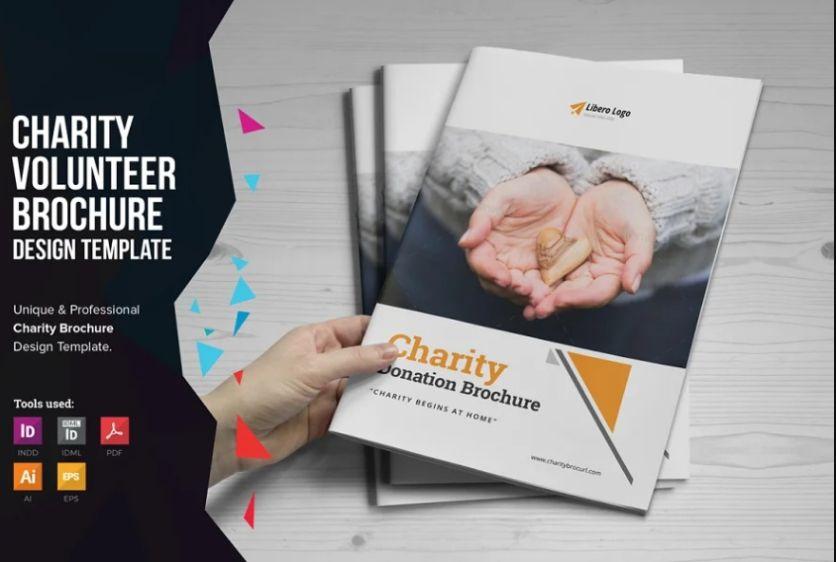 Donation Brochure Templates