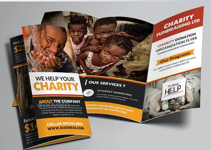 Donation Promotional Brochures